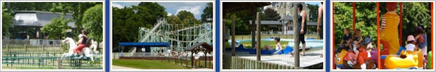 HollyPark parc d'attraction près de Baugé en Anjou
