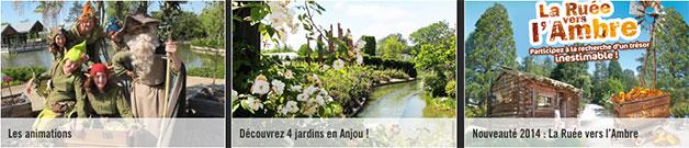parc Terra Botanica à Angers