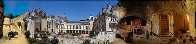 le château de Brézé (mariage et réception) à 8km du gite de France le logis d'Adrienne